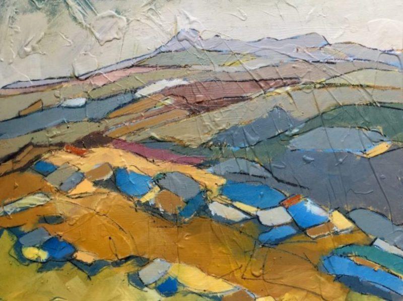 painting-cornwall-landscape-bodminmoor-northcornwall