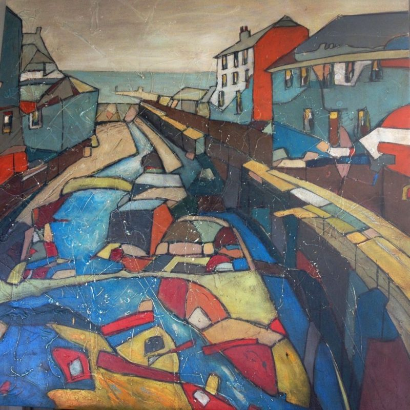 painting-cornwall-landscape-newlyn-fishing