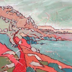 painting-cornwall-landscape-gwenver-sennen