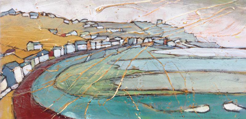 painting-cornwall-sennen-sea-penwith