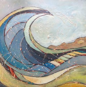 painting-cornwall-wave-surfing-penwith