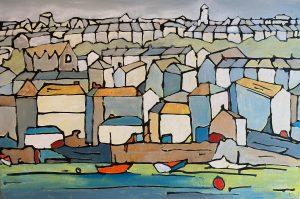 Falmouth painting Cornwall art stoves